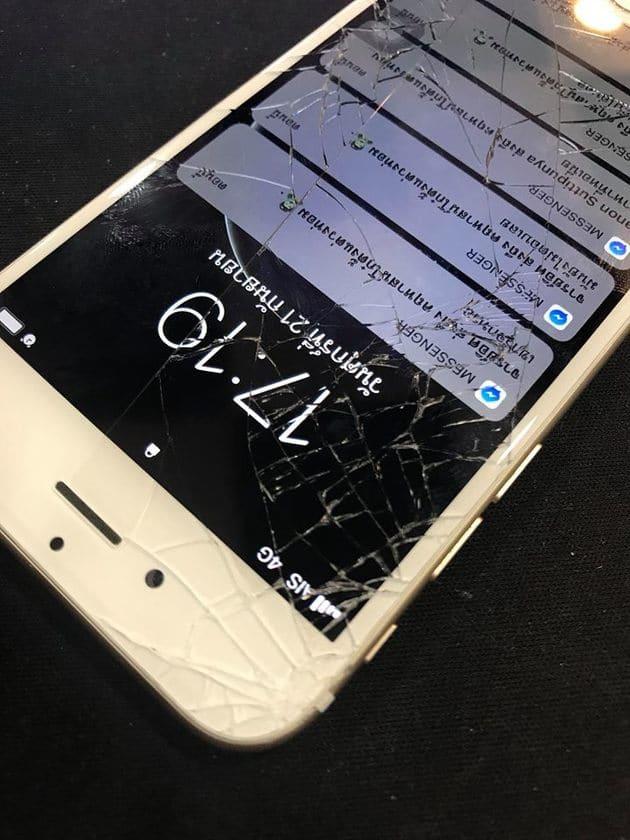 ซ่อมจอไอโฟนแตก
